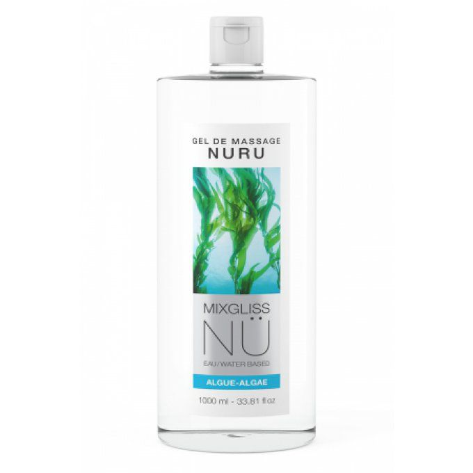 Gel massage Nuru Algue Mixgliss - 1 litre