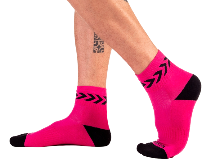 Chaussettes basses Petty Socks Rose - Taille S/M