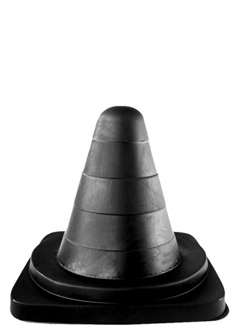 plug XXL Cone All Black 19 x 12 cm